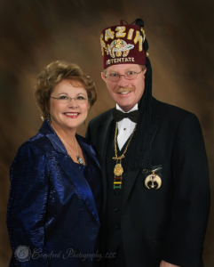 Clifton Forge Shriners Past Potentate Glenn R. Perry
