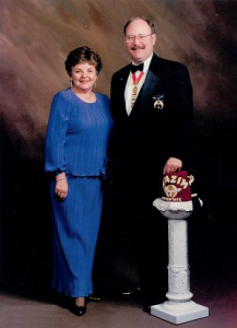 Clifton Forge Shriners Past Potentate James R. Eller 1998