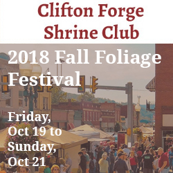 FALL FOLIAGE FESTIVAL @ Downtown Clifton Forge, Va | Clifton Forge | Virginia | United States